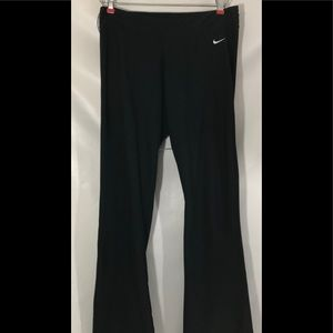 Nike dry fit women's pants black size medium